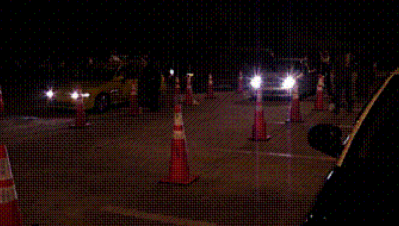 Picture DUI Checkpoint in Tampa, Hillsborough County FL