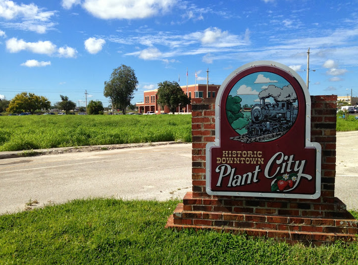 Picture Outside the Courthouse in Plant City, FL