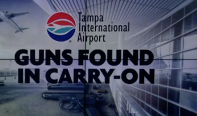 carry on guns at tampa international airport