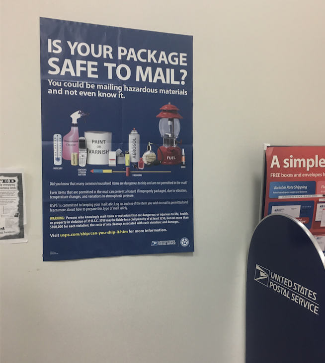 Crimes for Mailing Drugs through USPS in Florida