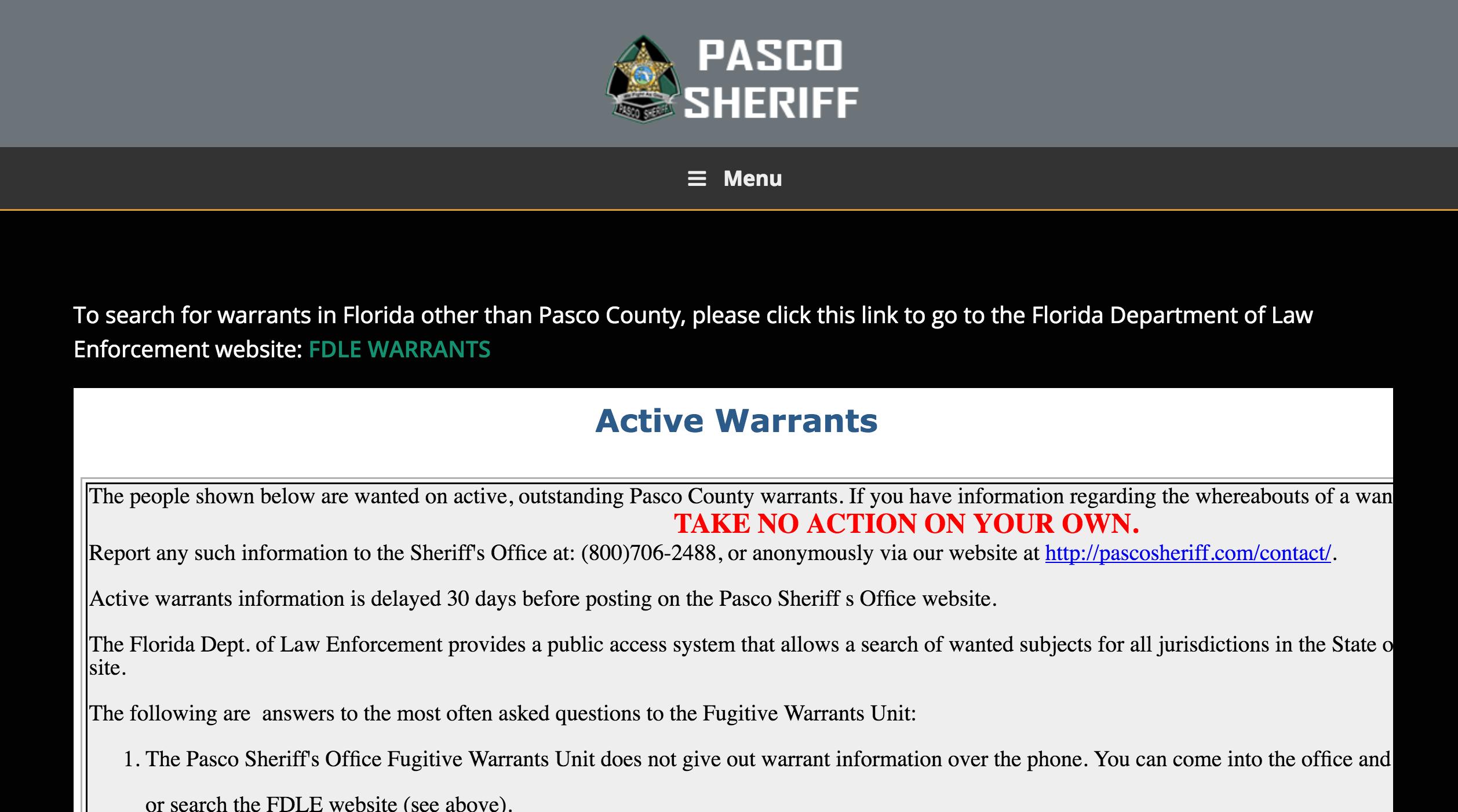Warrant Search | Oklahoma County Sheriff, OK